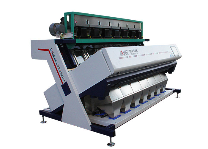 RC7 Model 1.9-3.2 KW Grain Color Sorter Machine With Image Processing System